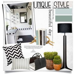 Hide-Away Reading Room by clotheshawg on Polyvore featuring polyvore interior interiors interior design home home decor interior decorating Cerno Jigsaw Cyan Design Midipy