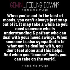 Possible remedies when Gemini is unhappy.