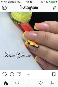 Elegant Nails, Classy Nails, Fancy Nails, Trendy Nails, Nail Polish Style, Nail Drawing, Liquid Nails, Manicure Y Pedicure, Butterfly Nail