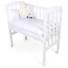 JLY Bedside Crib Dream 40x84cm Vit