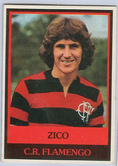 Sports Card Forum - Top 50 Football Cards (Mostly Vintage) : #43. 1978 Ping Pong Zico. One of the best players of the early 1980s, Zico was an expert passer, finisher and free kick specialist. Zico scored 52 goals in 72 appearances for the Brazilian National Team. This 1978 Ping Pong, issued Zico's his native Brazil, is similar to 1970s Topps issues so much though that I suspect Ping Pong was a Topps Brazilian subsidiary.