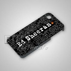 Ed Sheeran Lyric Art