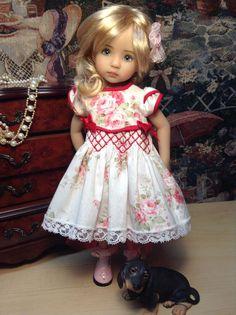 "Effner Little Darling Doll ""Smocked Roses"" | eBay"