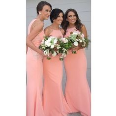 Isabella Dress in Peach. Now available in Nude!! #whiterunway #bridesmaids #weddings #peach