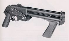 Winchester liberator - The Winchester Liberator is a 16-gauge, four-barrelled shotgun, similar to a scaled up four-shot double action derringer. It was an implementation of the Hillberg Insurgency Weapon design.