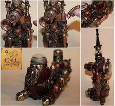 Soursonde II e-pipe steampunk complete by Cirdann72.deviantart.com on @deviantART