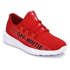 Fentacia Men Off White Series Running/Jogging Shoes with Memory Foam,Grafitti Shoe, Colors and Big Jogging Shoes, Bluetooth Headphones, Running Shoes For Men, Memory Foam, 21st, Ear, Colors, Sneakers, Stuff To Buy