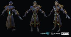Room 8 Art - Darkspur Costume for Wildstar