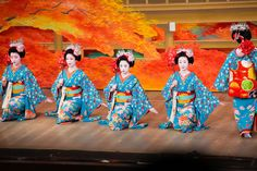How to fight political battles with Geisha dance.