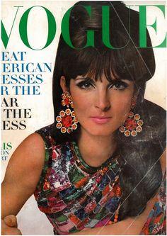 US Vogue. Mirelli Pettini. Mar. 1966.