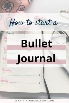 A short and simple guide to starting your bullet journal journey, plus keys to making the system that works for you! Read on to find out how to start a bullet journal in 3 simple steps! Down Quotes, Bullet Journal How To Start A, Cute Notebooks, Business Education, Write It Down, Pen And Paper, Positive Affirmations, Step Guide, Journal Ideas