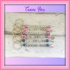 Thank You Gifts For Teachers, Gifts For Teachers, Personalised Keyrings, Trinkets, Party Favours, Wedding Favours