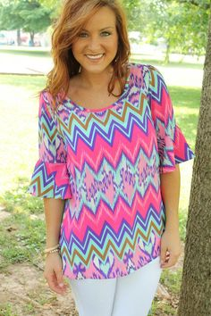 Time to Freshen your Chevron collection! Shop The Look at KashCollection.Com