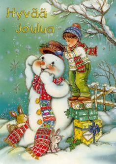 Sou admiradora e colecionadora de cartões de Natal, então, quando encontro imagens como estas fico encantada!