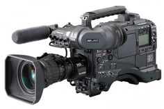 PANASONIC AJ-HDX900 - This DVCPRO HD camera offers 11 video formats, 422 intra-frame recording, & a low compression rate for fast-moving subjects.