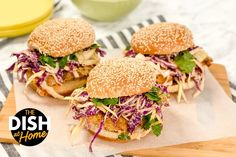 Crispy Oven Fried Chicken Sandwiches - ChefJamika.com Crispy Oven Fries, Crispy Oven Fried Chicken, Fries In The Oven, Chicken Sandwich Recipes, Fried Chicken Sandwich, Soup And Sandwich, Fish And Meat, Delicious Sandwiches, Quick Meals