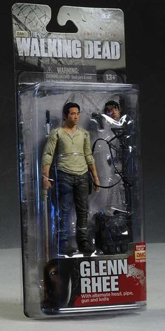 "Glenn Rhee (Steven Yeun) of The Walking Dead 5"" Action Figure by McFarlane Toys"