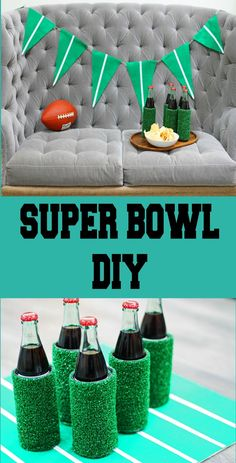 It's not too late to do some of this for a Super Bowl party.