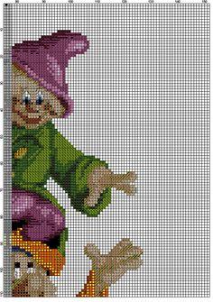 гноми 1_7 Cross Stitching, Cross Stitch Embroidery, Cross Stitch Patterns, Cross Stitch Fairy, Stitch Cartoon, Cross Stitch Boards, Swedish Weaving, Needlepoint, Needlework