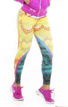d709e8200e Fiber - Mandalas Yellow Sun Yoga Leggings Workout Clothes Cheap