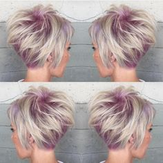 ☀️🔥Top Short Haircut for Summer 2015 🔥☀️ on all of our social media channels! 💕Lilac Swirls💕 by @alexisbutterflyloft Your work is so incredible Alexis 💥💥 #Hotonbeauty #thewaywewere