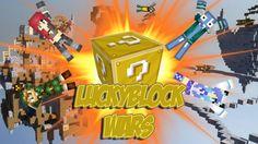 Minecraft Lucky Block Wars : VOLI NEL VUOTO !!! - Arenacraft