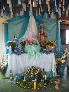 Dia de Janaína em Ilha de Boipeba-Ba.