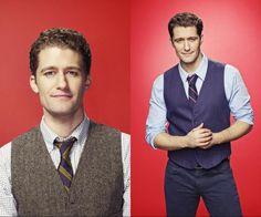 Matthew Morrison (@Matt_Morrison) - First & Last Glee Photoshoot (Season 1-6)