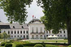 Grassalkivic Palace Residence of the President of Slovakia Bratislava