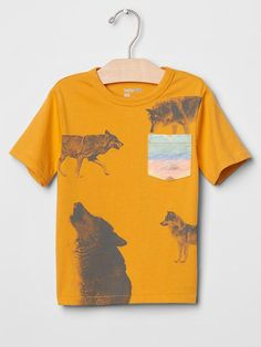 Graphic pocket tee Product Image