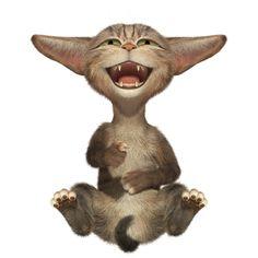Cg Artist, Anime Animals, Cat Design, Cat Art, Dog Cat, Dinosaur Stuffed Animal, Teddy Bear, Kitty, Illustration