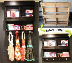 Pallet Shelf Display Tutorial