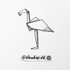 Daily drawing 55 - year 2  .  #origami   #ink #inkdrawing #drawing #draweveryday2017 #dailydrawing #dailyart #art #art #artoftheday #tumblrhttps://www.instagram.com/p/Bb4_AzZAySw/