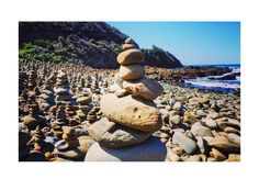 Never ending beauty on Great Ocean Road  #stackedrocks#temporaryart#greatoceanroad#roadtrippin#postcardfromaustralia by rikke_half