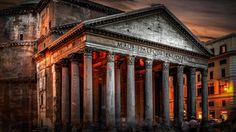 rome italy pantheon hd wallpapers download