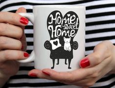 Sweet Graphic Mug For Cat Lovers