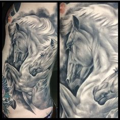 Need to get a horse tattoo at some point, I've grown up around them and love them.