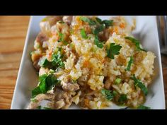 Pilaf de pui cu orez la cuptor-6 secrete pentru cel mai delicios pilaf - YouTube Bob Lung, Easy Vegetable Lasagna, Drake Ovo, Fast Food Restaurant, Gluten Free Diet, How To Cook Chicken, Fried Rice, Carne, Diet Recipes