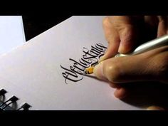 Parallel Pen Calligraphy - Everlasting