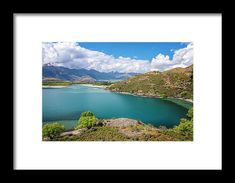 Lake Wanaka New Zealand IIi Framed Print by Joan Carroll.  All framed prints are professionally printed, framed, assembled, and shipped within 3 - 4 business days and delivered ready-to-hang on your wall. Choose from multiple print sizes and hundreds of frame and mat options.  Visit joan-carroll.pixels.com for more #photography and #artforsale!   #lakewanaka #newzealand #mountains #landscape #turquiose #lake #wanaka #new #zealand