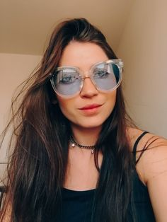 óculos de sol amy azul transparente - Belici. Óculos original da marca  Belici  ) dffe847e17