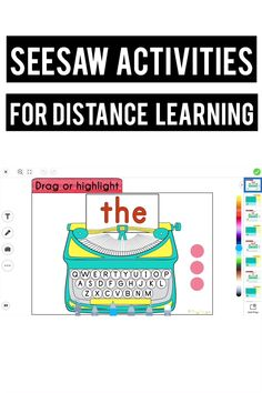 Seesaw App, Online Classroom, Letter To Parents, Teaching Technology, New Teachers, Education Quotes, Art Education, Student Gifts, Learning Resources