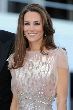 or hair down... Kate Middleton has the best hair
