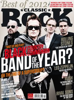 Black Country Communion 1 of 5 covers January 2013