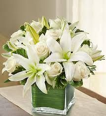 cubed white centerpieces - Google Search