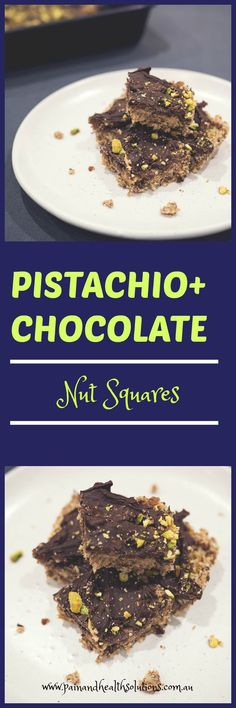 You won't be able to stop at just one of these low-carb Pistachio + Chocolate nut squares. Loving Earth Chocolate, Melting Chocolate, Pistachio Nutrition, Dark Chocolate Benefits, Anti Oxidant Foods, Shredded Coconut, Mediterranean Recipes, Tray Bakes, Meal Planning