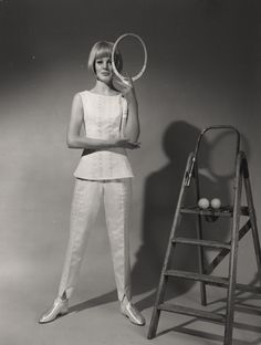 Ted Tinling tennis outfit.