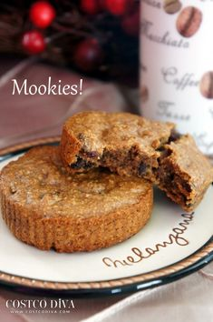 "When you combine super healthy ingredients and still make something super delicious, that's the pinnacle in foods. And when you combine a muffin with a cookie, well I call that a mookie! I made these mookies because my husband eats a lot of flax seed for it's high omega 3 content. Flax can be tricky to cook with and not have it be overwhelmingly ""flaxy"" but the combination of maple syrup, oats, almond butter and other ingredients create a really tasty and healthy snack or breakfast item."