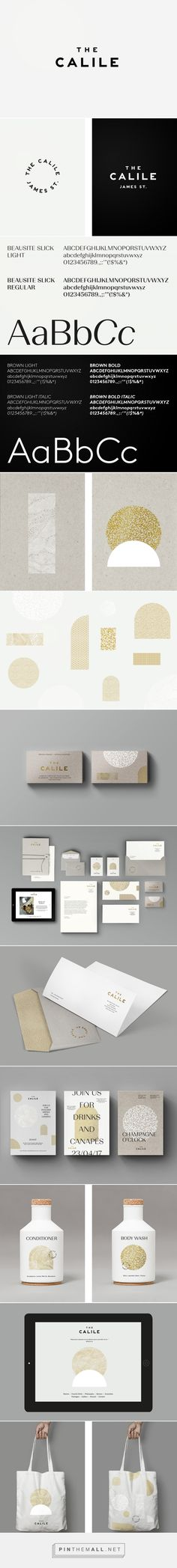 The Calile on Behance - created via https://pinthemall.net