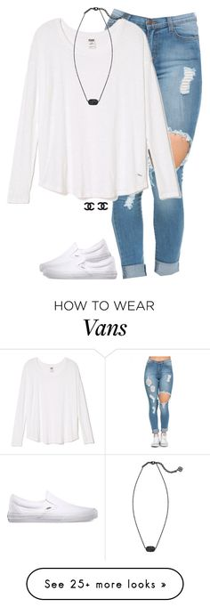 """""""it's our paradise and it's our war zone"""" by meljordrum on Polyvore featuring Vans, Kendra Scott, women's clothing, women, female, woman, misses and juniors"""